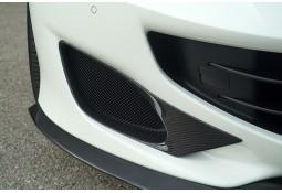 Inserts de pare-chocs avant Carbone NOVITEC Ferrari Portofino