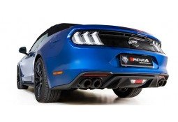 Echappement REMUS Ford Mustang 5,0 GT - Ligne Cat-Back à valves (Version Homologué)(08/2017+)