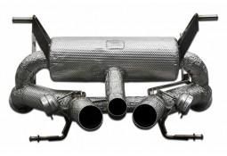 Echappement TUBI STYLE Style Lamborghini Aventador S (LP740-4) - Silencieux à valves