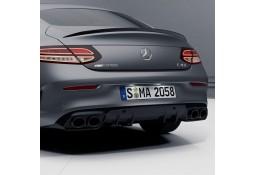 Diffuseur arrière + embouts échappements C43 AMG Facelift Mercedes Classe C Coupé (C/A205) Pack AMG