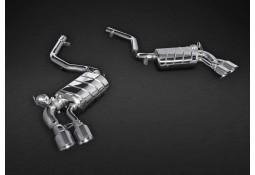 Echappement CAPRISTO BMW X5M / X6M (F85/F86) - Ligne Cat-Back à valves (2013+)