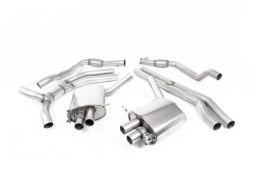 Ligne d'échappement Cat-Back à valves MILLTEK Audi RS4 (B9) (2018+) (Non Homologuée)
