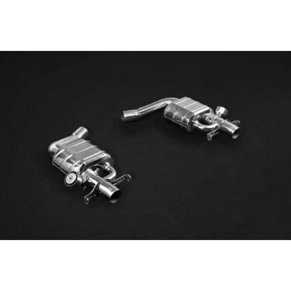 Echappement CAPRISTO Mercedes S63 AMG (W222) - Ligne Cat-Back à valves (07/2017+)