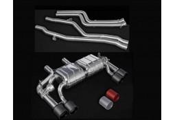 Echappement CAPRISTO BMW M2 Competition (F87N) - Ligne Cat-Back à valves (2018+)