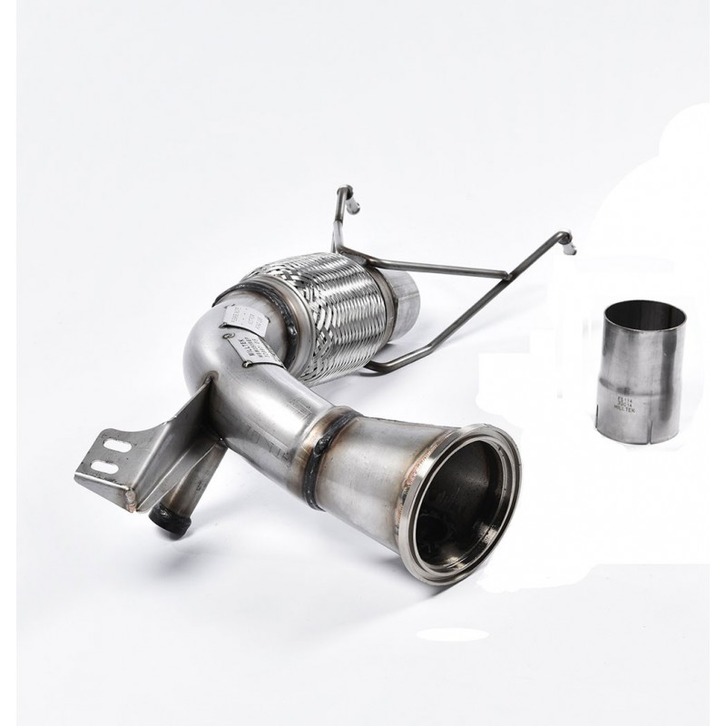 Descente de turbo + Suppression Catalyseurs & FAP MILLTEK Volkswagen Golf 7.5 R FAP/OPF (2018+)