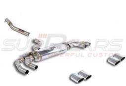 Echappement SUPERSPRINT Audi SQ2 FAP/OPF (5Q00) - Ligne Cat-Back à valves (2019+)