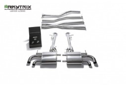 Echappement ARMYTRIX Lexus LC500 (Z10) - Ligne Cat-Back à valves (2016+)