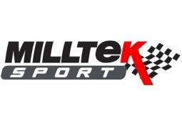Ligne d'échappement Cat-Back MILLTEK Seat Leon Cupra ST 300 (2018-2019)