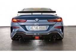Echappement + Diffuseur Carbone AC SCHNITZER BMW M850i xDrive) (G14/G15) - Silencieux à valves (2019+)