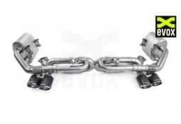 Silencieux à valves EVOX Inox Porsche 991 MKI