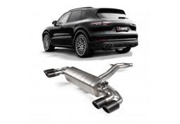 Echappement AKRAPOVIC Porsche Cayenne & E-Hybrid 3,0 V6 sans FAP (E3/536) (2018+)- Ligne Cat-Back à valves