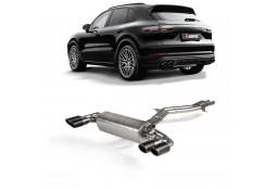 Echappement AKRAPOVIC Porsche Cayenne & E-Hybrid 3,0 V6 FAP (E3/536) (2018+)- Ligne Fap-Back à valves