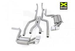 Echappement EVOX VW Mercedes C63 AMG W/S/C204 (2007-2013) - Ligne complète à valves