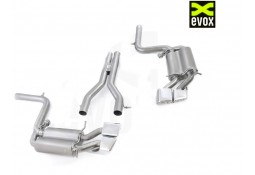 Echappement EVOX VW Mercedes C63 AMG W/S/C204 (2007-2013) - Ligne cat-back à valves