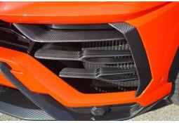 Inserts de pare-chocs avant Carbone NOVITEC Lamborghini Urus