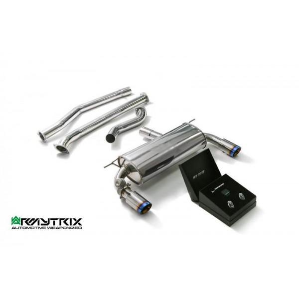 Echappement ARMYTRIX BMW 420i/430i + xDrive 2WD/4WD (F32/F36) - Ligne Cat-Back à valves (2016+)