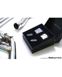 Ligne d'échappement Cat-Back inox ARMYTRIX à valves pour BMW 340i / 440i (F32/F33/F30F31) (2016-)