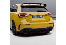 Diffuseur arrière + embouts échappements A35 AMG pour Mercedes Classe A (W177) Pack AMG