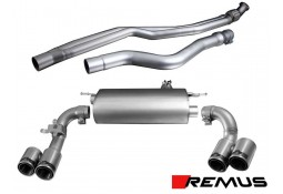 Echappement REMUS 4 Sorties BMW 335i F30/F31 // 435i F32/F36 (2012+)- Ligne Cat-Back à valves