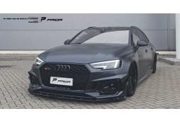 Spoiler avant PRIOR DESIGN Audi RS4 (B9) (2018+)