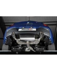 Ligne d'échappement Cat-Back MILLTEK BMW M135i (F20/F21) (2012+)
