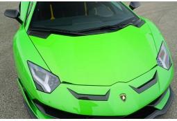 Extensions supérieures de pare-chocs Carbone NOVITEC Lamborghini Aventador SVJ (+ Roadster SVJ)