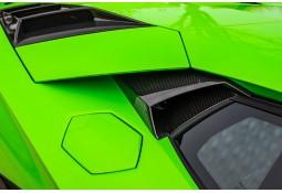 Prises d'air de fenêtre Carbone NOVITEC Lamborghini Aventador SVJ (+ Roadster SVJ)