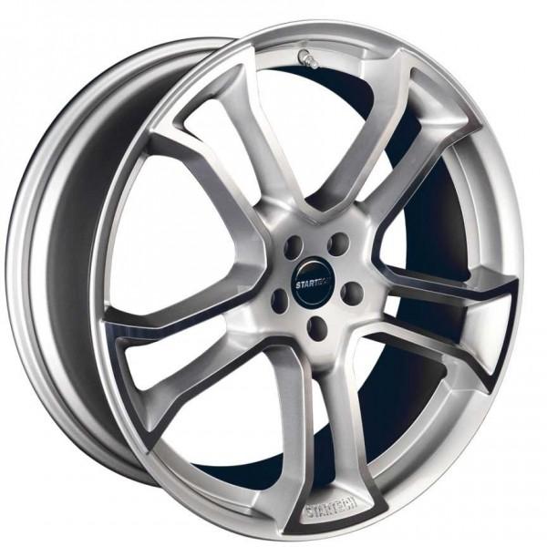 "4 Jantes STARTECH Monostar R Silver 10x22"" pour Range Rover + Sport"