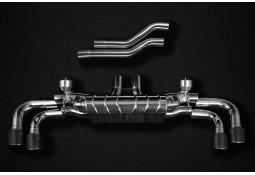 Echappement CAPRISTO Porsche Cayenne V6 Turbo/BiTurbo (E3) - Ligne Fap-Back (2017+)