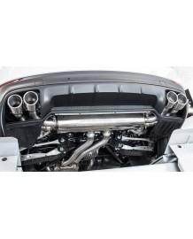 Echappement CARGRAPHIC Porsche Cayenne / e-Hybrid (E3) (2018+) - Ligne Fap-Back à valves