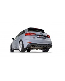 Echappement REMUS Audi S3 2,0 TFSI 8V SportBack Quattro 310ch FAP (11/2018+)- Ligne Fap-Back à valves RACING