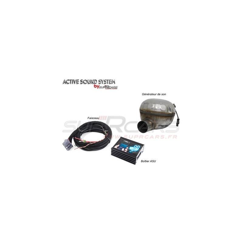 """Echappement sport """"Active Sound System Bluetooth SupRcars®"""" pour Peugeot RCZ / 508 / 3008 Diesel"""