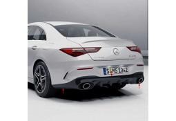 Diffuseur arrière + embouts échappements CLA35 AMG pour Mercedes CLA (C/X118) Pack AMG  (2019+)