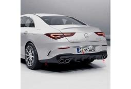 Diffuseur arrière + embouts échappements CLA45 S AMG pour Mercedes CLA (C/X118) Pack AMG (2019+)