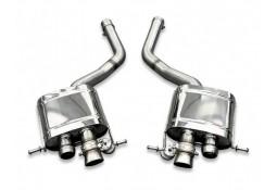 Echappement TUBI STYLE Bentley Continental GT & GTC V8  -Silencieux à valves (2010+)