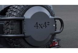 Support de roue de secours + cache en carbone BRABUS Mercedes Classe G 500 4x4 (W463)