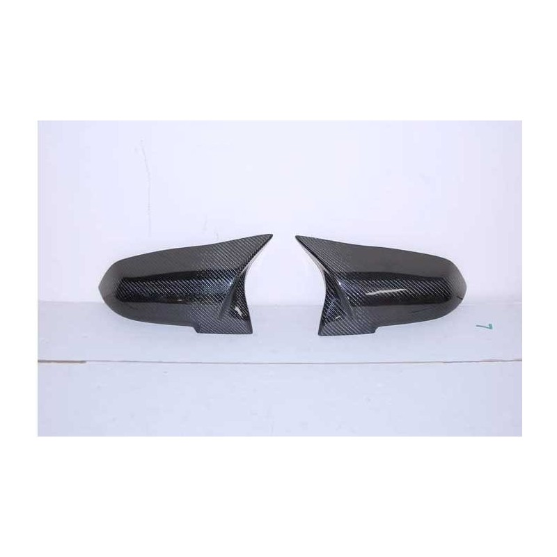 Coques de rétroviseurs Carbone F20 / F32 / F30 / F33 / F36 / E84 Look M4