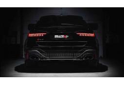 Ligne d'échappement Fap-Back à valves MILLTEK Audi RS6 C8 FAP/OPF (2020+) Racing