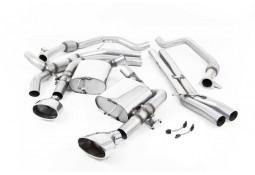Ligne d'échappement Cat/Fap-Back à valves MILLTEK Audi RS4 & RS5 FAP/OPF(B9) (2019+) Racing