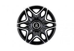 """4 Jantes KAHN Split 6 RR Black 9,5x22"""" pour ROLLS ROYCE DROP HEAD (2007-)"""
