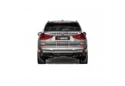 Echappement AKRAPOVIC BMW X4 M / X4 M Competition F98 ( FAP/OPF) (2020+)- Silencieux à valves