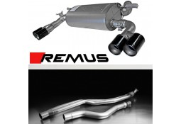 Echappement REMUS BMW 328i/428i N20 F30/F31/F32/F36 (2012+)- Ligne Cat-Back à valves