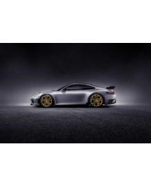 Ressorts courts TECHART Porsche 992 Carrera 4S Cabriolet (2019+)