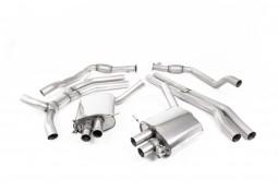 Ligne d'échappement Cat-Back à valves MILLTEK Audi RS5 Sportback B9 Sans FAP (2018-2019) (Road+)
