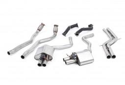 Ligne d'échappement complète à valves MILLTEK Audi RS6 / RS7 C7 4,0 TFSI (2013-2018) (Racing)