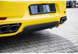 Diffuseur arrière TECHART pour Porsche 991.2 Turbo (2017+)