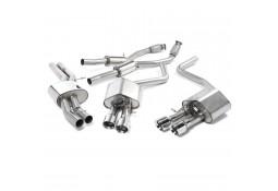 Ligne d'échappement Cat-Back à valves MILLTEK Audi S8 4H 4,0 TFSI (2013+)