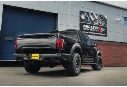 Ligne d'échappement Cat-Back MILLTEK Ford F150 Raptor 3.5 V6 EcoBoost Supercrew (2018+)