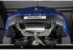 Ligne d'échappement Cat-Back MILLTEK BMW M135i (F20/F21) (2012-2016)(Road)