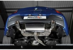 Silencieux d'échappement MILLTEK BMW M135i (F20/F21) (2012-2016)(Race)